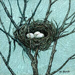 Marc Alexxander | Birds Nest II | The Secret Forest Exhibition